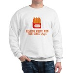 Beer Helping Men Fish Sweatshirt