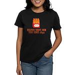 Beer Helping Men Fish Women's Dark T-Shirt
