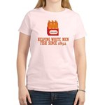 Beer Helping Men Fish Women's Light T-Shirt