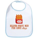 Beer Helping Men Fish Bib