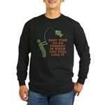 Best Time To Fish Long Sleeve Dark T-Shirt