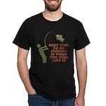 Best Time To Fish Dark T-Shirt