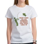 Best Time To Fish Women's T-Shirt