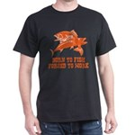 Born To Fish Dark T-Shirt