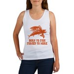Born To Fish Women's Tank Top