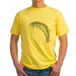 Catfish Yellow T-Shirt