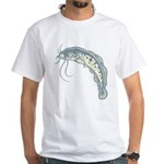 Catfish White T-Shirt