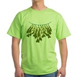 Caught Crappies Green T-Shirt