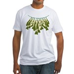 Caught Crappies Fitted T-Shirt