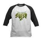 Caught Crappies Kids Baseball Jersey