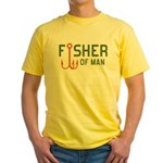 Fisher Of Man Yellow T-Shirt