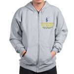 Fisherman At Work Zip Hoodie