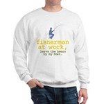 Fisherman At Work Sweatshirt