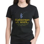 Fisherman At Work Women's Dark T-Shirt