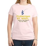 Fisherman At Work Women's Light T-Shirt