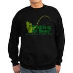 Fishing & Beer Sweatshirt (dark)