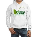 Fishing & Beer Hooded Sweatshirt
