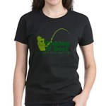 Fishing & Beer Women's Dark T-Shirt