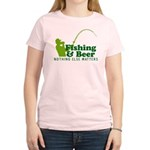 Fishing & Beer Women's Light T-Shirt