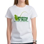 Fishing & Beer Women's T-Shirt