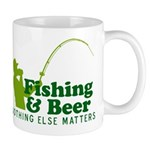 Fishing & Beer Mug