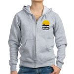Fishing Requires Deep Water Women's Zip Hoodie