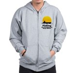 Fishing Requires Deep Water Zip Hoodie