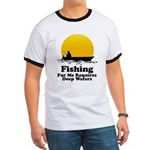 Fishing Requires Deep Water Ringer T