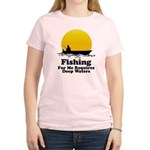 Fishing Requires Deep Water Women's Light T-Shirt