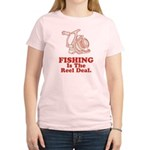Fishing Is The Real Deal Women's Light T-Shirt