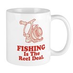 Fishing Is The Real Deal Mug