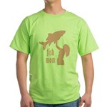 Fish Mom Green T-Shirt