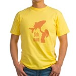 Fish Mom Yellow T-Shirt