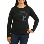 Flycasting Women's Long Sleeve Dark T-Shirt