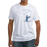 Flycasting Fitted T-Shirt