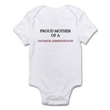 Proud Mother Of A DATABASE ADMINISTRATOR Infant Bo