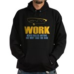 Why Try Working Hoodie (dark)