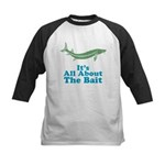 It's All About The Bait Kids Baseball Jersey