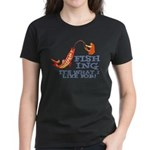 Fishing - What I Live For Women's Dark T-Shirt