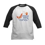 Fishing - What I Live For Kids Baseball Jersey