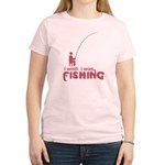 I Wish I Was Fishing Women's Light T-Shirt