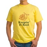 Keepin' It Reel Yellow T-Shirt