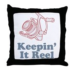 Keepin' It Reel Throw Pillow