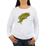 Largemouth Bass Women's Long Sleeve T-Shirt