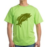 Largemouth Bass Green T-Shirt