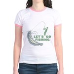 Let's Go Fishing Jr. Ringer T-Shirt