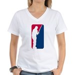 Major League Fishing Women's V-Neck T-Shirt