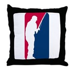Major League Fishing Throw Pillow