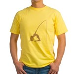 Pole Dancer Yellow T-Shirt