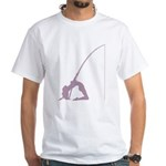 Pole Dancer White T-Shirt